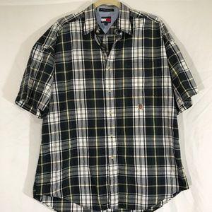 Tommy Hilfiger Men's Vintage Crest Shirt Sz M